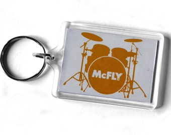 McFly Keyring from CD Booklet