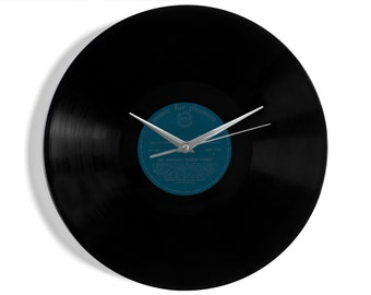"George Formby ""The Inimitable"" Vinyl Record Wall Clock"