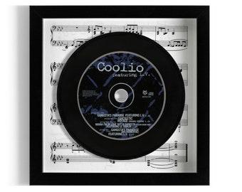 """Coolio """"Gangsta's Paradise"""" Framed CD"""