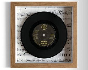 """Elton John """"Pinball Wizard"""" Framed 7"""" Vinyl Record"""