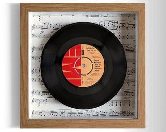 """Dennis Waterman """"I Could Be So Good For You"""" Framed 7"""" Vinyl Record"""