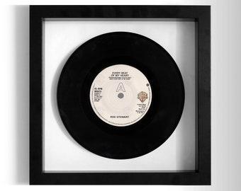 "Rod Stewart ""Every Beat Of My Heart"" Framed 7"" Vinyl Record"