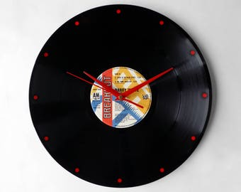 "Barry White ""Love Is In Your Eyes"" Vinyl Record Wall Clock"
