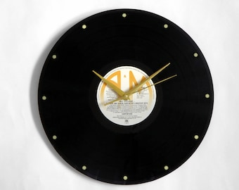 "Carpenters ""Only Yesterday"" Vinyl Record Wall Clock"