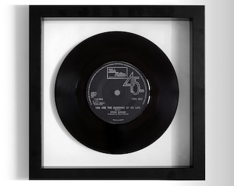 "Stevie Wonder ""You Are The Sunshine Of My Life"" Framed 7"" Vinyl Record"
