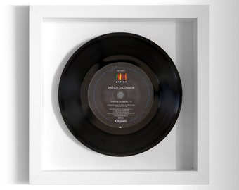 "Sinéad O'Connor ""Nothing Compares 2 U"" Framed 7"" Vinyl Record"