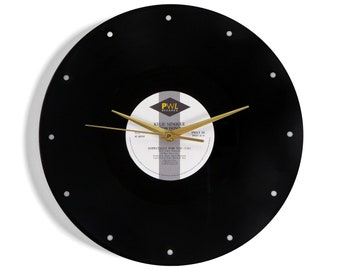 Kylie and Jason ''Especially For You'' Vinyl Record Wall Clock