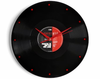 "New Kids On The Block ""Covergirl"" Vinyl Record Wall Clock"