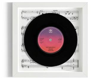 "David Parton ""Isn't She Lovely"" Framed 7"" Vinyl Record"