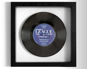 "The Human League ""Mirror Man"" Framed 7"" Vinyl Record"