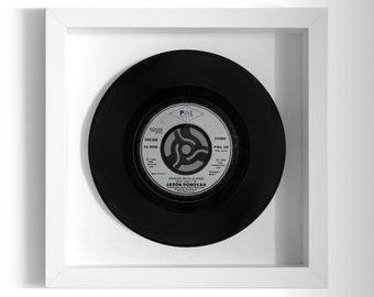 "Jason Donovan ""Sealed With A Kiss"" Framed 7"" Vinyl Record"