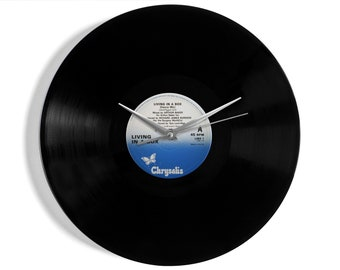 Living In A Box Vinyl Record Wall Clock