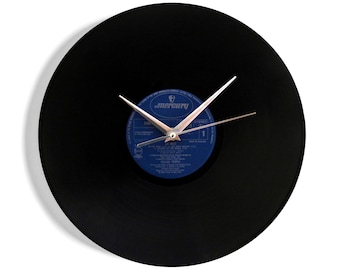 "Village People ""Go West"" Vinyl Record Wall Clock"