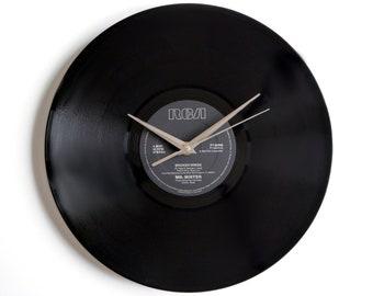 """Mr Mister """"Broken Wings"""" Vinyl Record Wall Clock"""