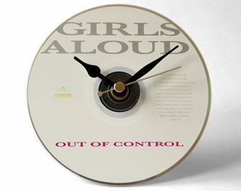 "Girls Aloud ""Out Of Control"" CD Clock and Keyring Gift Set"