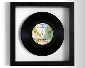 "The Four Seasons ""December, 1963 (Oh, What A Night)"" Framed 7"" Vinyl Record"