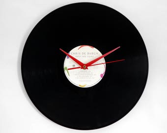 "Chris De Burgh ""Into the Light"" Vinyl Record Wall Clock"