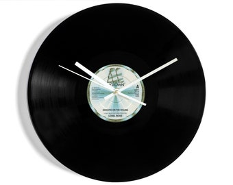 "Lionel Richie ""Dancing on the Ceiling"" Vinyl Record Wall Clock"