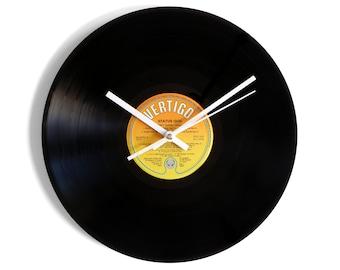 "Status Quo ""12 Gold Bars Volume 2"" Vinyl Record Wall Clock"