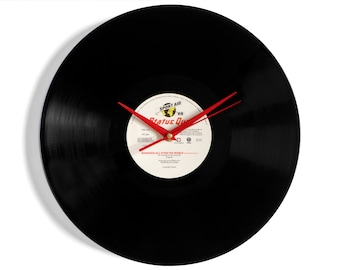 "Status Quo ""Running All Over The World"" Vinyl Record Wall Clock"