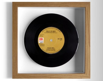 "Stealers Wheel ""Stuck In The Middle"" Framed 7"" Vinyl Record"