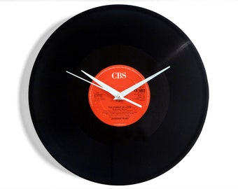 "Jennifer Rush ""The Power Of Love"" Vinyl Record Wall Clock"