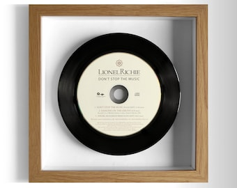 "Lionel Richie ""Don't Stop The Music"" Framed CD"