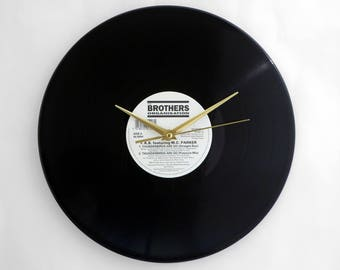 Thunderbirds Vinyl Record Wall Clock
