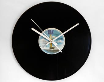 "Hot Chocolate ""Are You Getting Enough Of What Makes You Happy"" Vinyl Record Wall Clock"