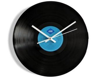 """Damian """"The Time Warp II"""" Vinyl Record Wall Clock"""