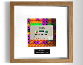 Anarchy Framed ZX Spectrum Game