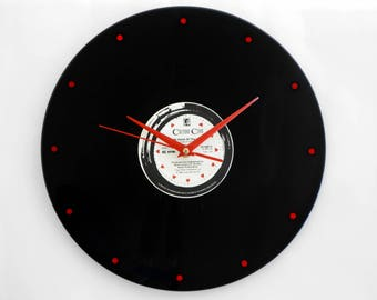 "Culture Club ""Time"" Vinyl Record Wall Clock"