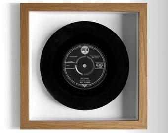 "Neil Sedaka ""Oh! Carol"" Framed 7"" Vinyl Record"