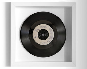 "2 In A Room ""Wiggle It"" Framed 7"" Vinyl Record"