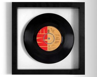 "Cliff Richard ""My Kinda Life"" Framed 7"" Vinyl Record"