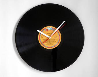 "Nat King Cole ""Love Songs"" Vinyl Record Wall Clock"