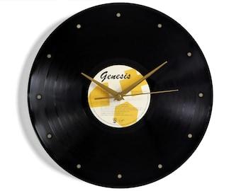 Genesis Vinyl Record Wall Clock