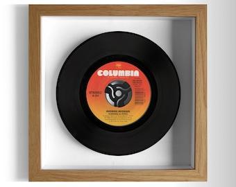 "George Michael ""Kissing A Fool"" Framed 7"" Vinyl Record"