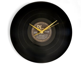 "LL Cool J ""Stand By Your Man"" Vinyl Record Wall Clock"