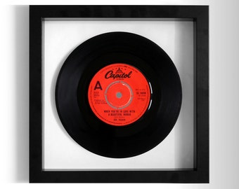 "Dr Hook ""When You're In Love With A Beautiful Women"" Framed 7"" Vinyl Record"