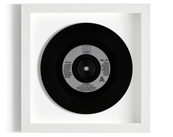 """Shanice """"I Love Your Smile"""" Framed 7"""" Vinyl Record"""