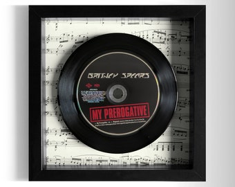 "Britney Spears ""My Prerogative"" Framed CD"