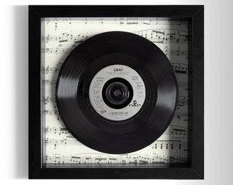 "UB40 ""Higher Ground"" Framed 7"" Vinyl Record"