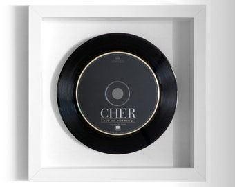 "Cher ""All Or Nothing"" Framed CD"