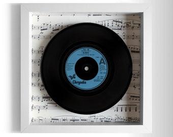 "Blondie ""Call Me"" Framed 7"" Vinyl Record"