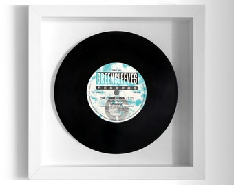 "Shaggy ""Oh Carolina"" Framed 7"" Vinyl Record"