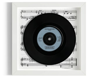 "George Michael ""Careless Whisper"" Framed 7"" Vinyl Record"