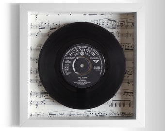 "The Monkees ""I'm A Believer"" Framed 7"" Vinyl Record"