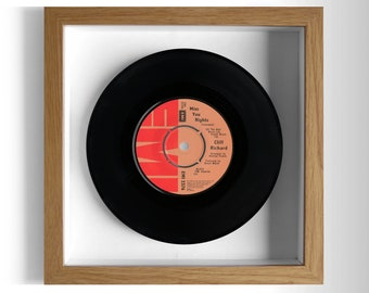 "Cliff Richard ""Miss You Nights"" Framed 7"" Vinyl Record"