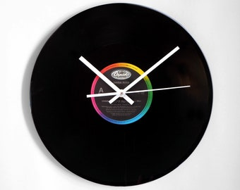 "Diana Ross ""Chain Reaction"" Vinyl Record Wall Clock"